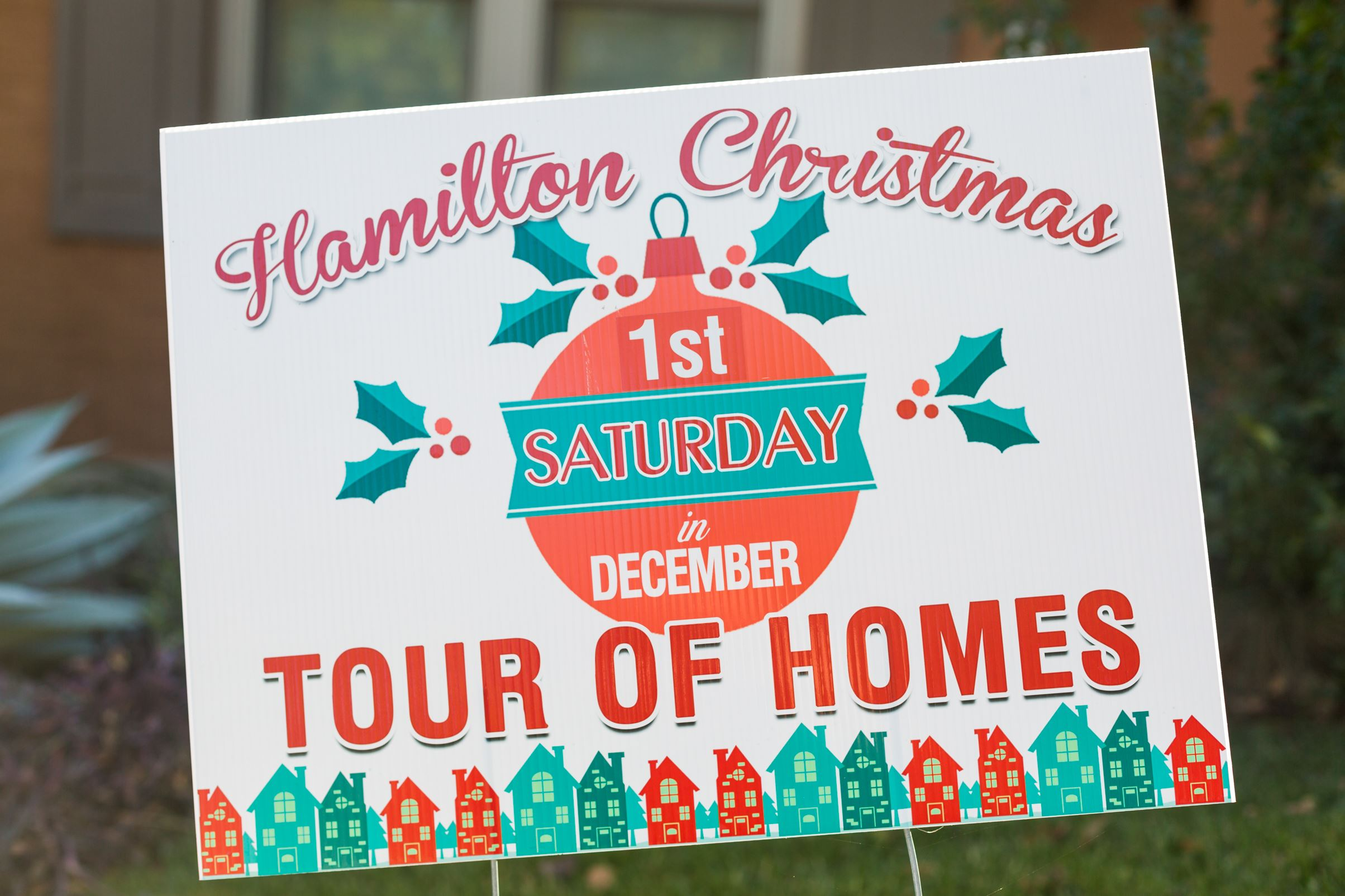 Tour of Homes sign